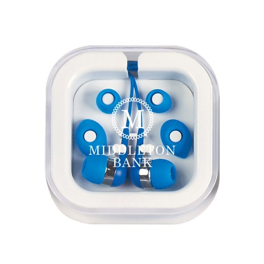 Ear Buds In Case w/ Eartips
