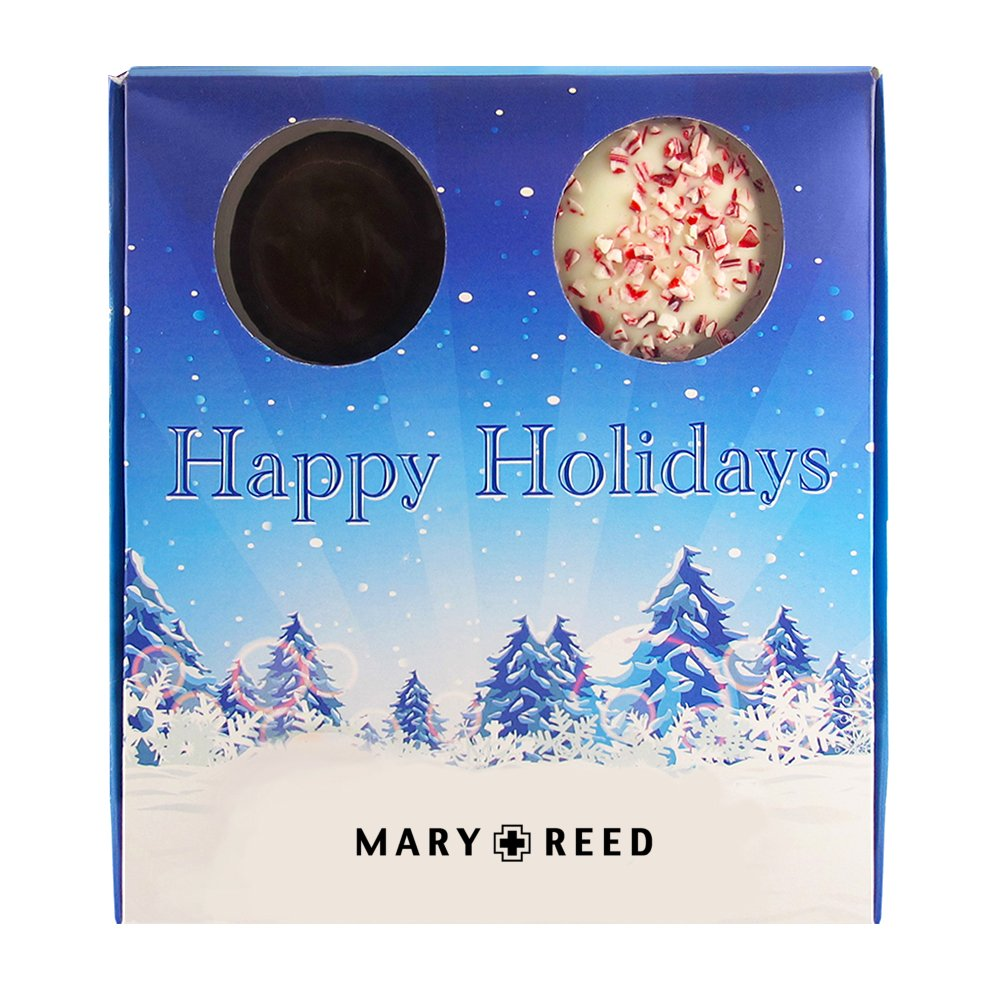 Holiday Gourmet Chocolate Covered Cookie Box