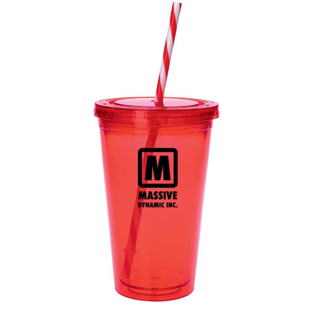 Colored Candy Cane Tumbler - 18 oz. | Good Value