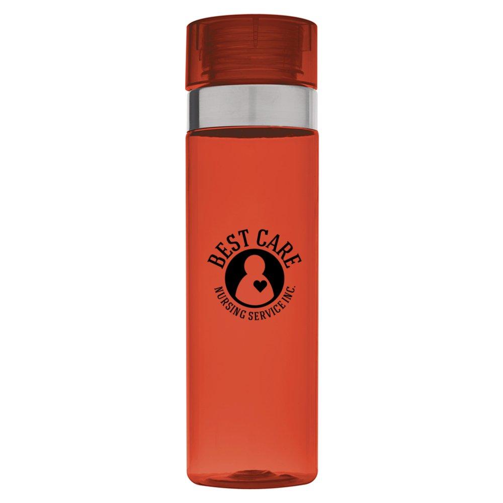 Metal Accent Water Bottle