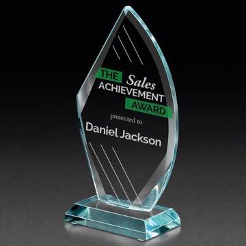 Pure Starphire Arrowhead Trophy