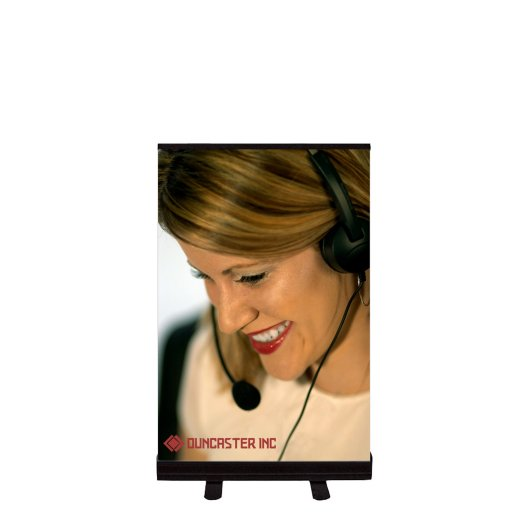 """24"""" Tabletop Retractable Banner kit"""