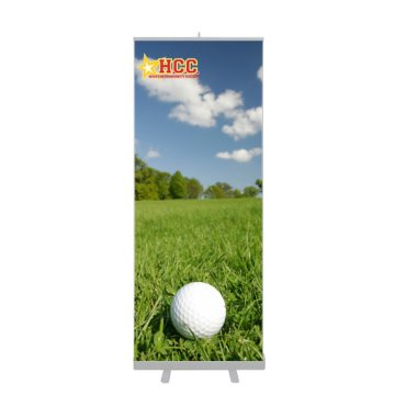 "31.5"" Retractable Banner kit"