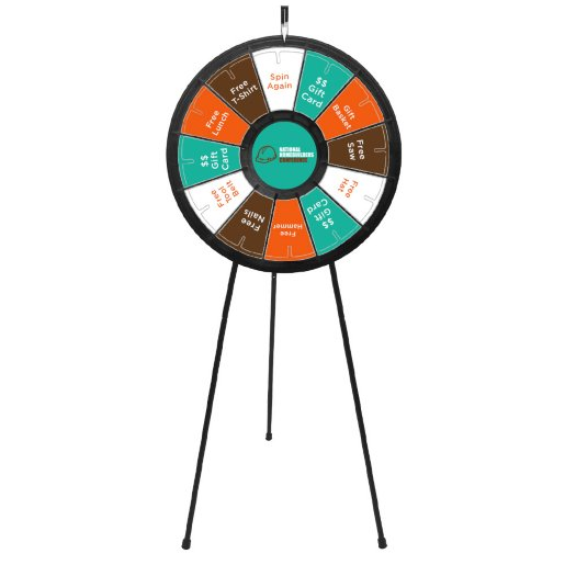 Spin It to Win It Prize Wheel