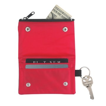 Fold Up Wallet Key Chain