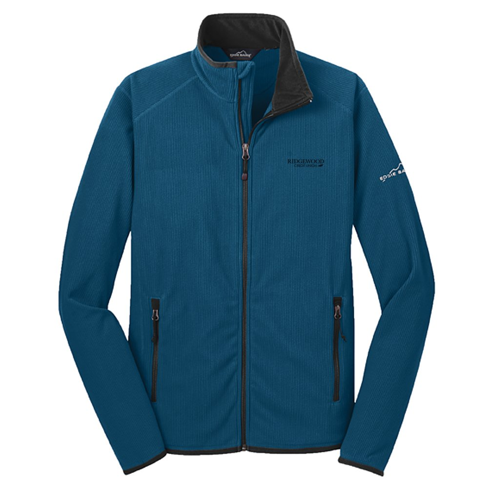 Eddie Bauer® Full-Zip Vertical Fleece Jacket-Mens