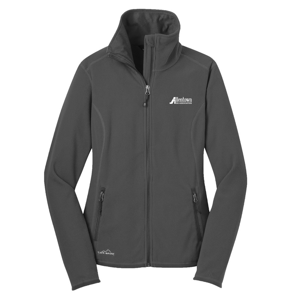 Eddie Bauer® Full-Zip Vertical Fleece Jacket- Ladies