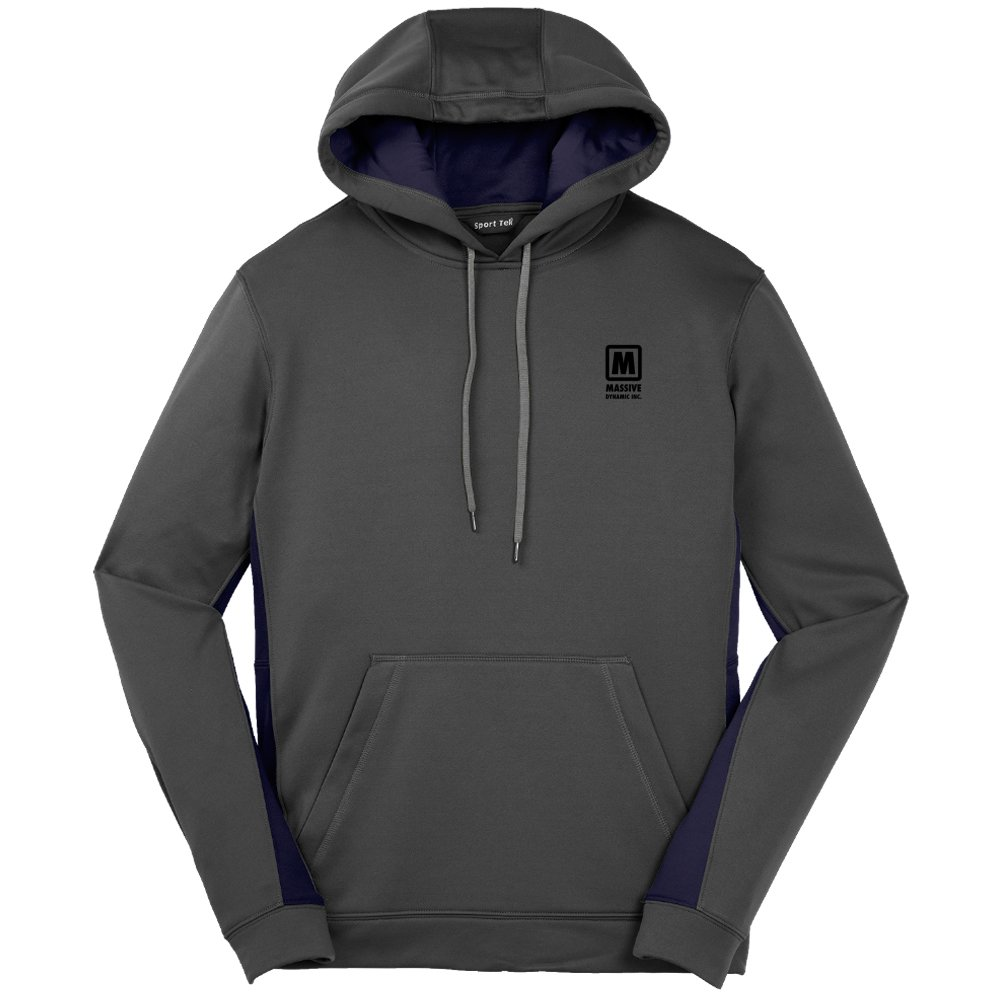 Sport-Tek® Men's Wicking Hooded Sweatshirt