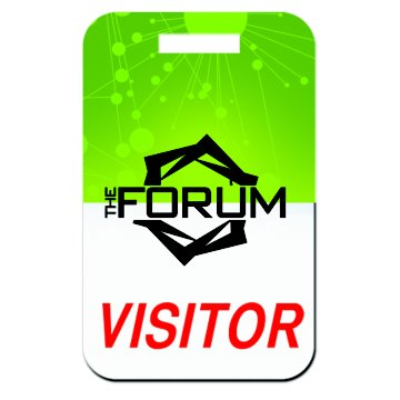 Event Poly Laminate Badge
