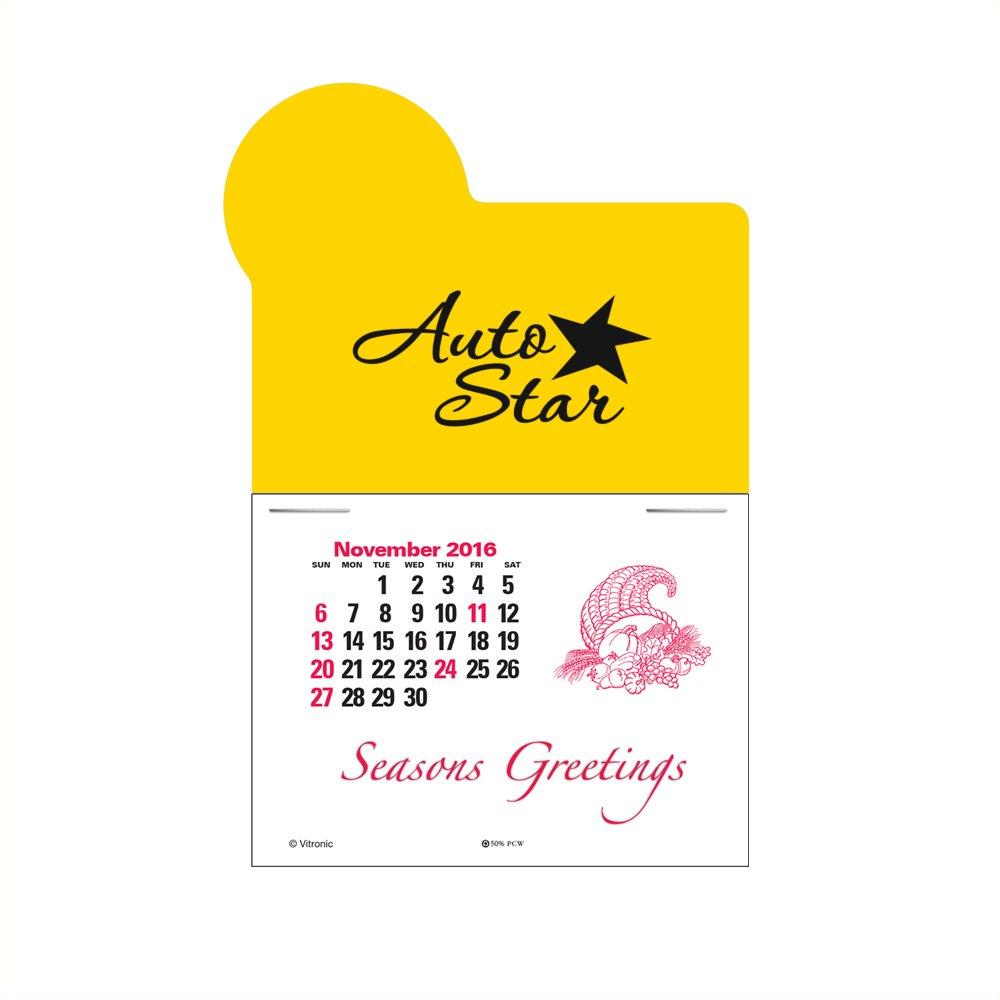 Die-Cut Calendar