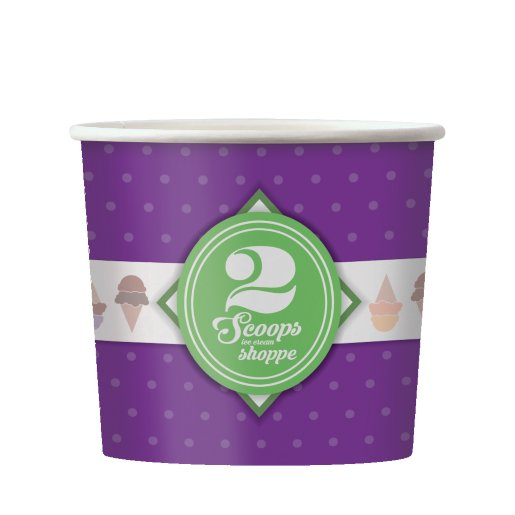16 oz Cold Paper Containers