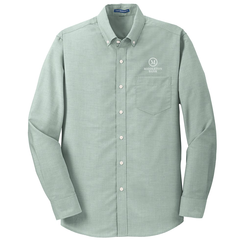 Port Authority® Oxford Shirt- Mens