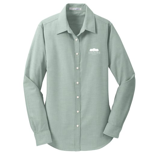 Port Authority®  Oxford Shirt- Ladies