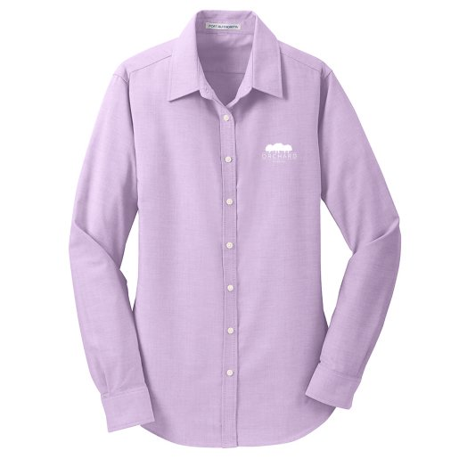 Port Authority®  Oxford Shirt- Ladies