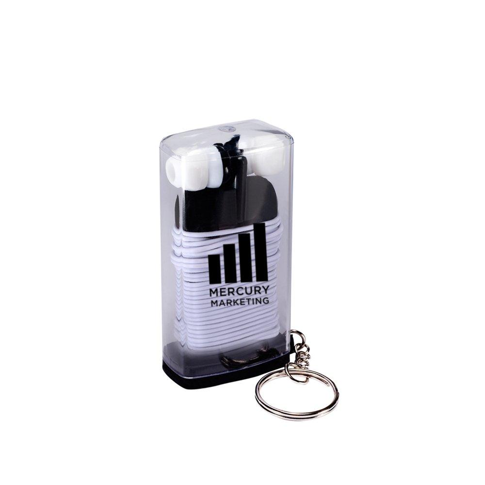 Earbud Case Keychain