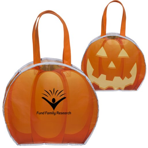 Reflective Pumpkin Bag