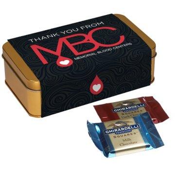 Ghirardelli® Chocolates Gift Tin