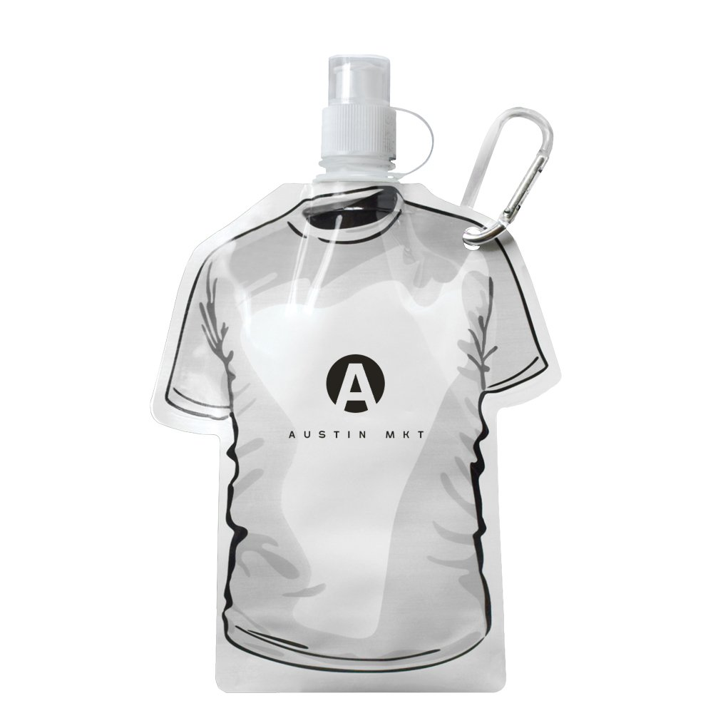 T-Shirt Shaped Folding Water Bottle