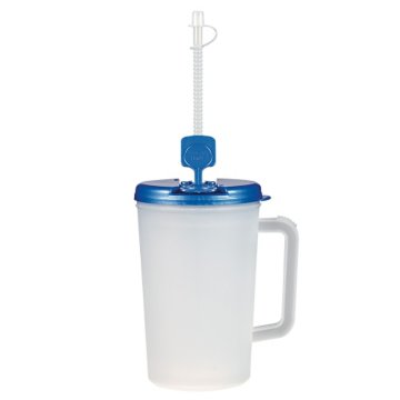 34 Oz Clear Double-Wall Tumbler