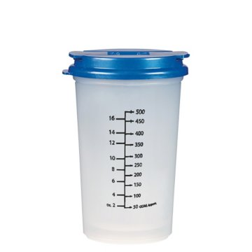 22 Oz Clear Measure Tumbler