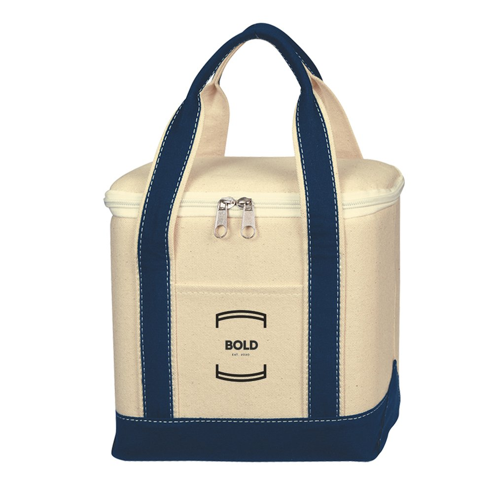 Nautical Canvas Cooler Bag