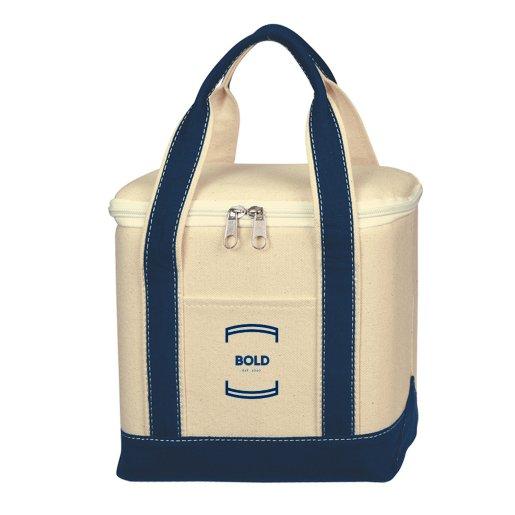 Nautical Canvas Cooler Bag