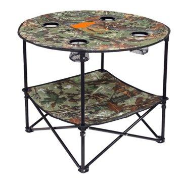 """Camo 28"""" Portable Folding Table"""