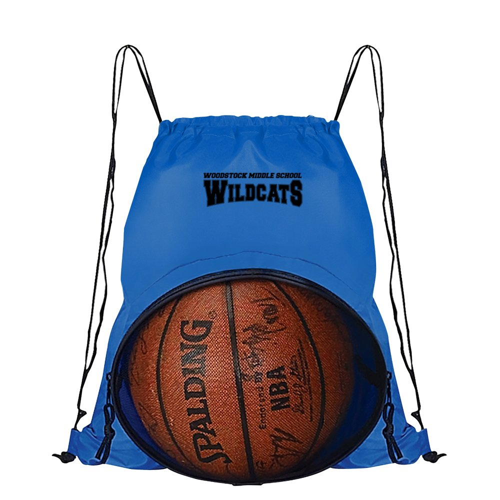 Sports Ball Drawstring Backpack