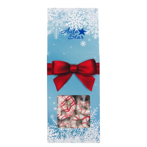 Holiday Yogurt Pretzels Gift Bag