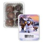 Sea Salt Caramel Gift Tin - Vintage Snowman