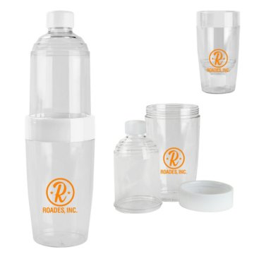 Flip It 2-in1 Water Bottle Tumbler