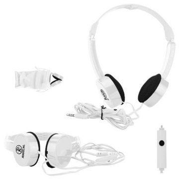 Folding Headphones with Microphone