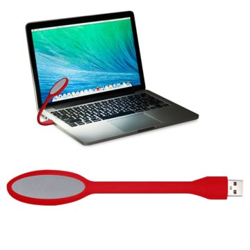 USB Flexible Book Light