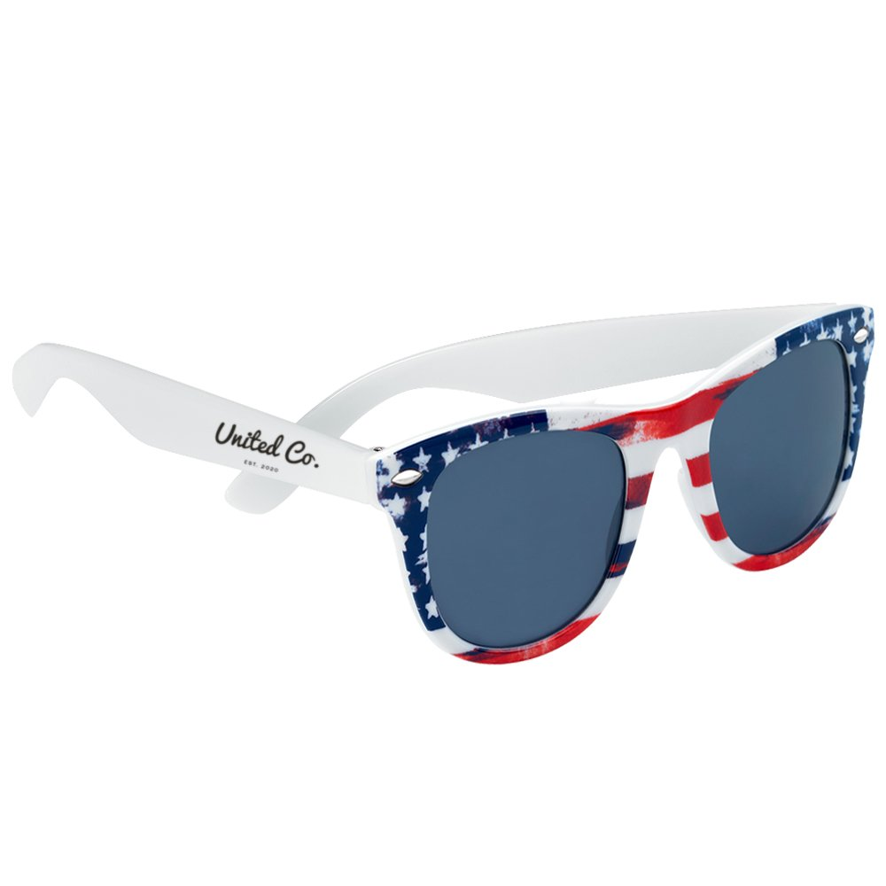 Malibu Patriotic Sunglasses