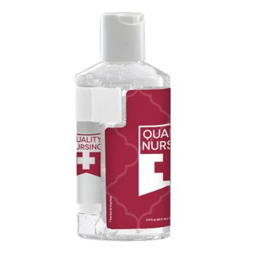 Duo Hand Sanitizer and Lip Balm Combo