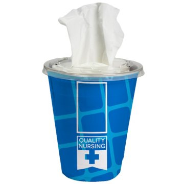 Travel Tissue Cup