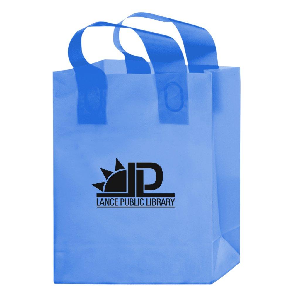 Color Frosted Soft Loop Shopper Bag