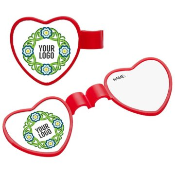 Heart Stethoscope ID Tag