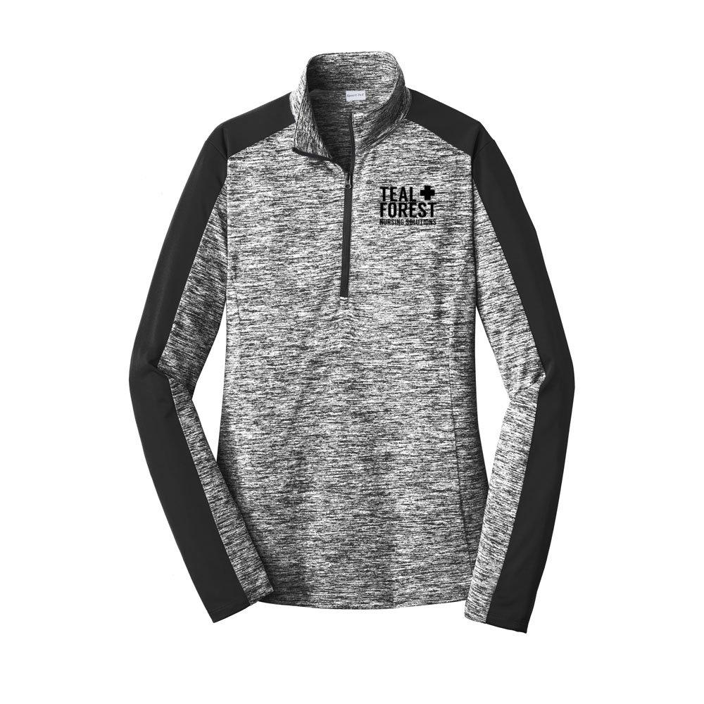Women's Heathered Sport-Tek® 1/4-Zip Pullover
