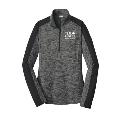 Women's Heathered Sport-Tek® 1/4-Zip Pullover