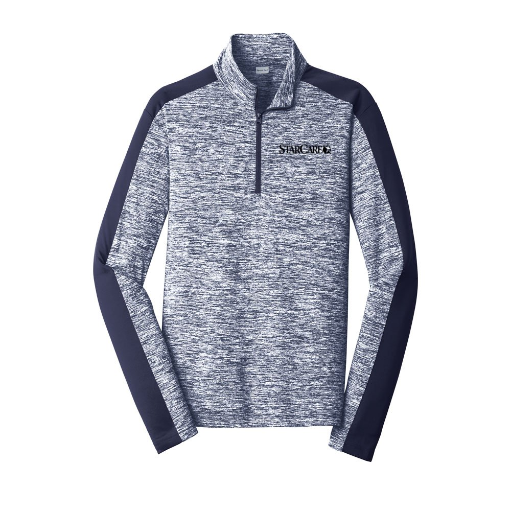 Men's Heathered Sport-Tek® 1/4-Zip Pullover