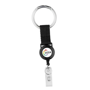 Fun Shape Carabiner Badge Reel