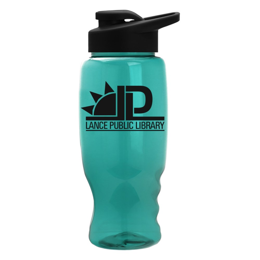 Big Top Water Bottle with Drink-Through Lid