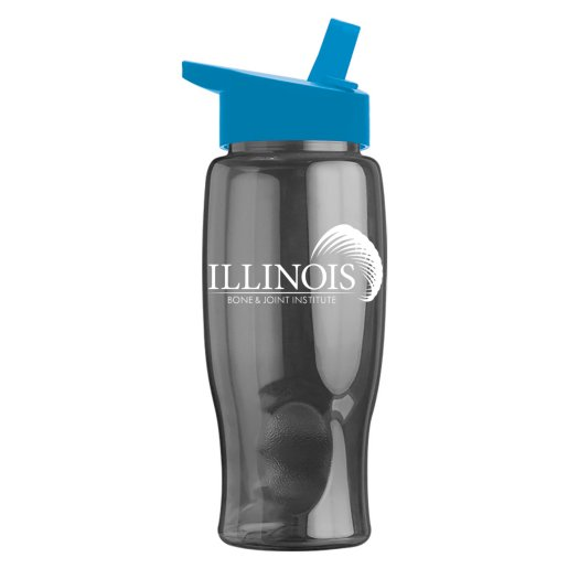 Big Top Water Bottle with Flip-Straw Lid