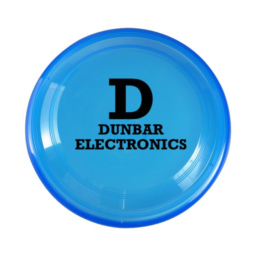 Translucent Flying Disc