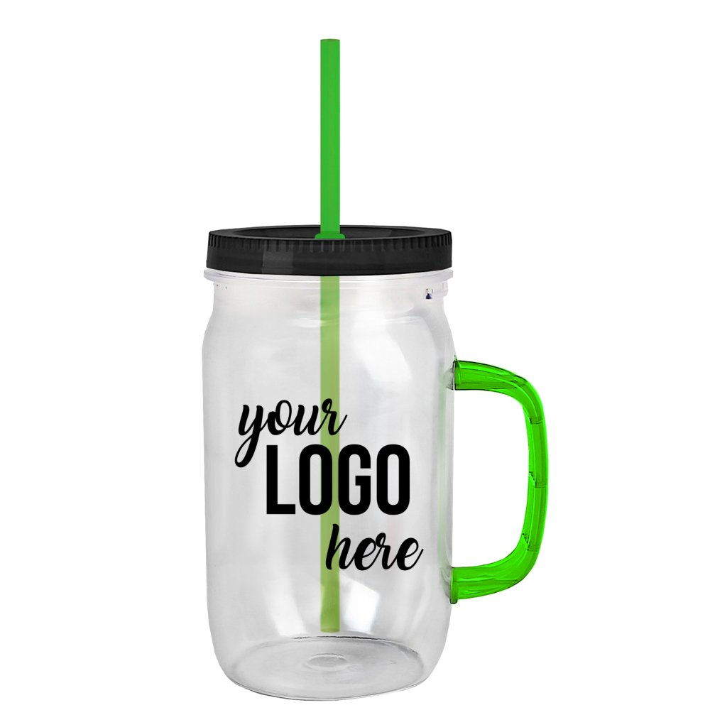 Budget Mason Jar with Handle