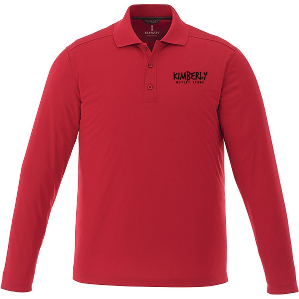 Men's Basic Long Sleeve Polo