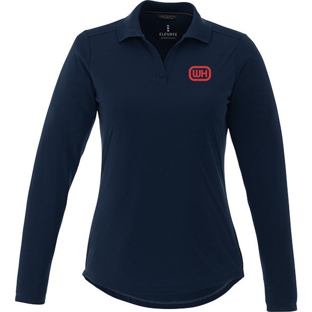 Women's Basic Long Sleeve Polo