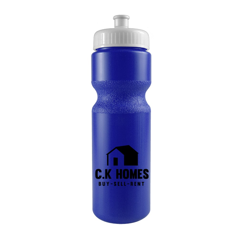 28 oz. Bike Water Bottle with Push/Pull Cap - Colors