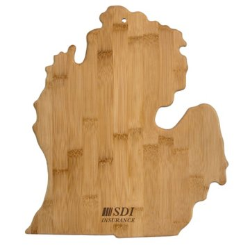 Michigan Bamboo Cutting Board